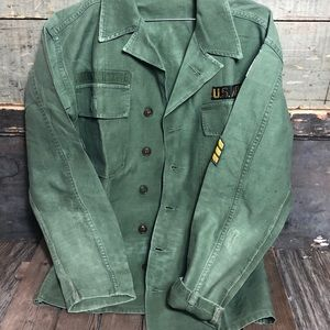 Rare Vintage Olive Green US Military Jacket